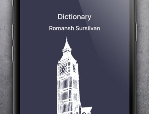 Dictionary Romansh English