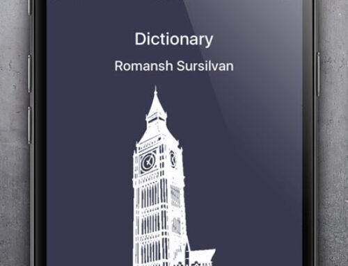 Dictionary Romansh English