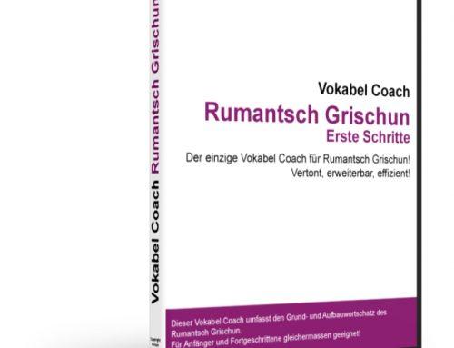 Vokabel Coach Rumantsch Grischun