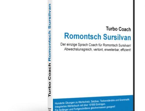 Turbo Coach Romontsch Sursilvan