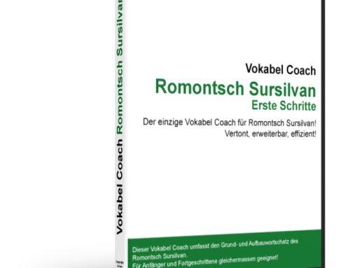 Vokabel Coach Romontsch Sursilvan